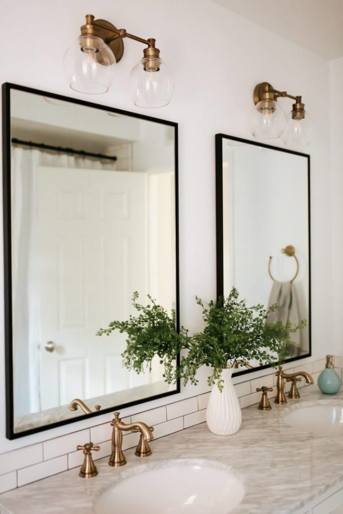 popular bathroom mirrors